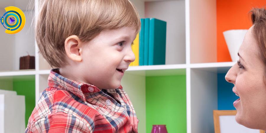 دیر حرف زدن کودک