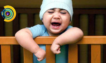 گریه شبانه کودک