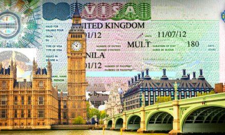 مدارک ویزای توریستی انگلستان