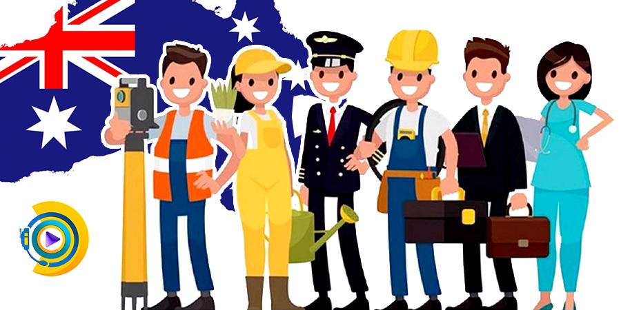 لیست مشاغل استرالیا
