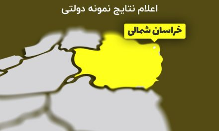اعلام نتایج نمونه دولتی خراسان شمالی 99